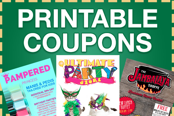 View our Printable Coupons
